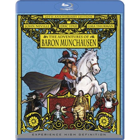 The Adventures of Baron Munchausen (Blu-ray) (The Adventures Of The Baron Of Munchausen)