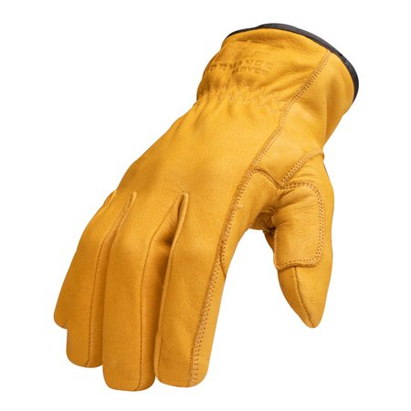 5 Small Leather - 212 Performance LDC5-90-008 Cut Resistant Leather Driver Gloves (EN Level 5), Small