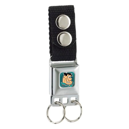 The Flintstones Cartoon TV Show Fred Face Key Chain - Flintstones Accessories