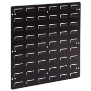 LEWISBINS LP1818-CON ESD Louvered Panel, Wall-Mounted, Black