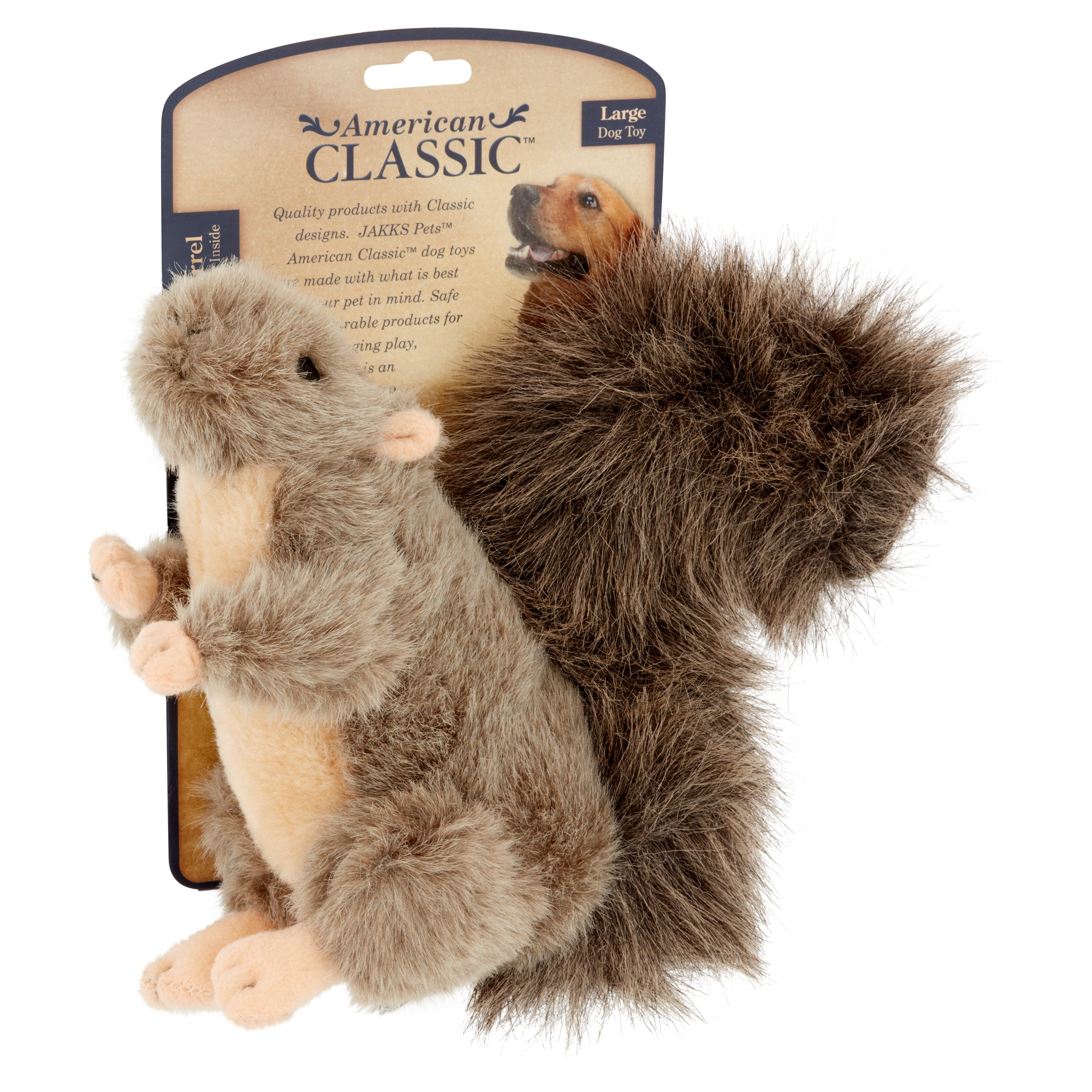 American Classic Squirrel Dog Toy Walmart