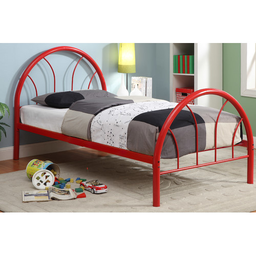 Hokku Designs Prism Wrought Iron Bed