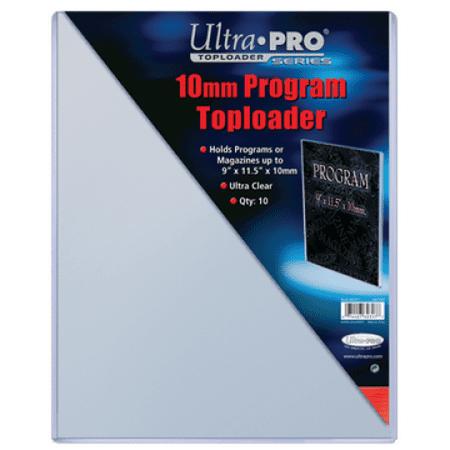 Ultra Pro 7442782317 Top Loader Program 10Mm Thick (10 Per Pack) ()