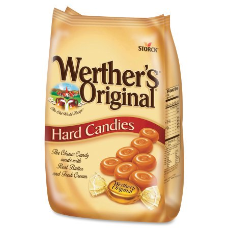 Storck Werther's Original Caramel Hard Candies, 34 (Best Butterscotch Hard Candy)