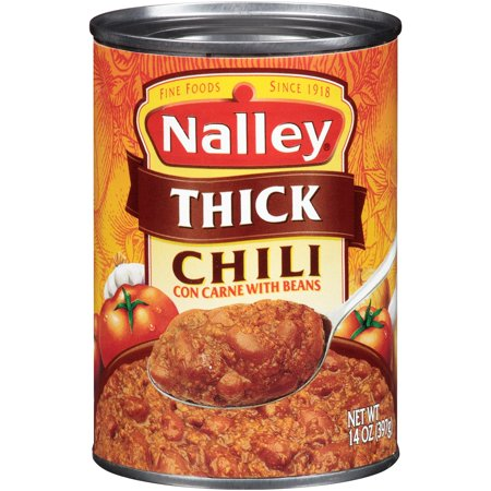 Nalley Thick Chili Con Carne With Beans  15 Oz