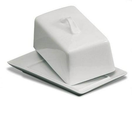 danesco white porcelain covered butter (Danesco White Porcelain)