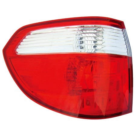 2005-2007 Honda Odyssey Driver Left Side Rear Back Lamp Tail Light ()