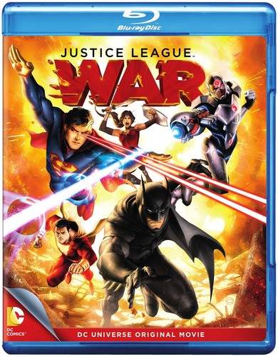 Dcu Justice League: War (Blu-ray) by