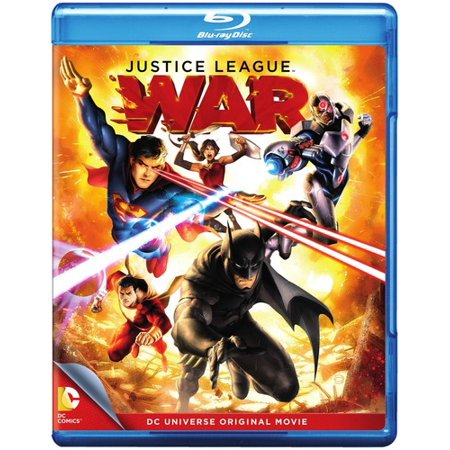 Dcu Justice League  War  Blu Ray
