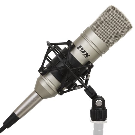 LyxPro LDC-10 Cardioid Condenser Studio Microphone - Professional Home Recording