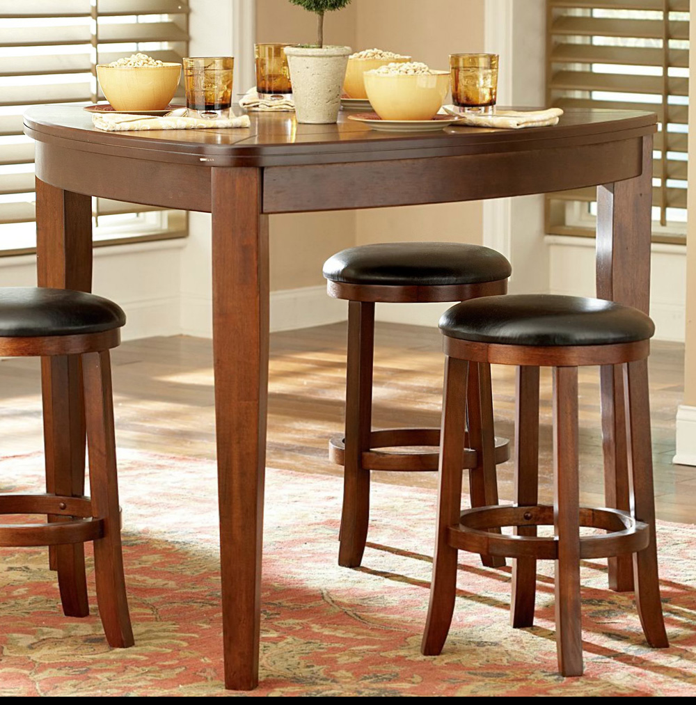 Home Elegance 586-32 48 Inch TRIANGLE COUNTER HEIGHT TABLE