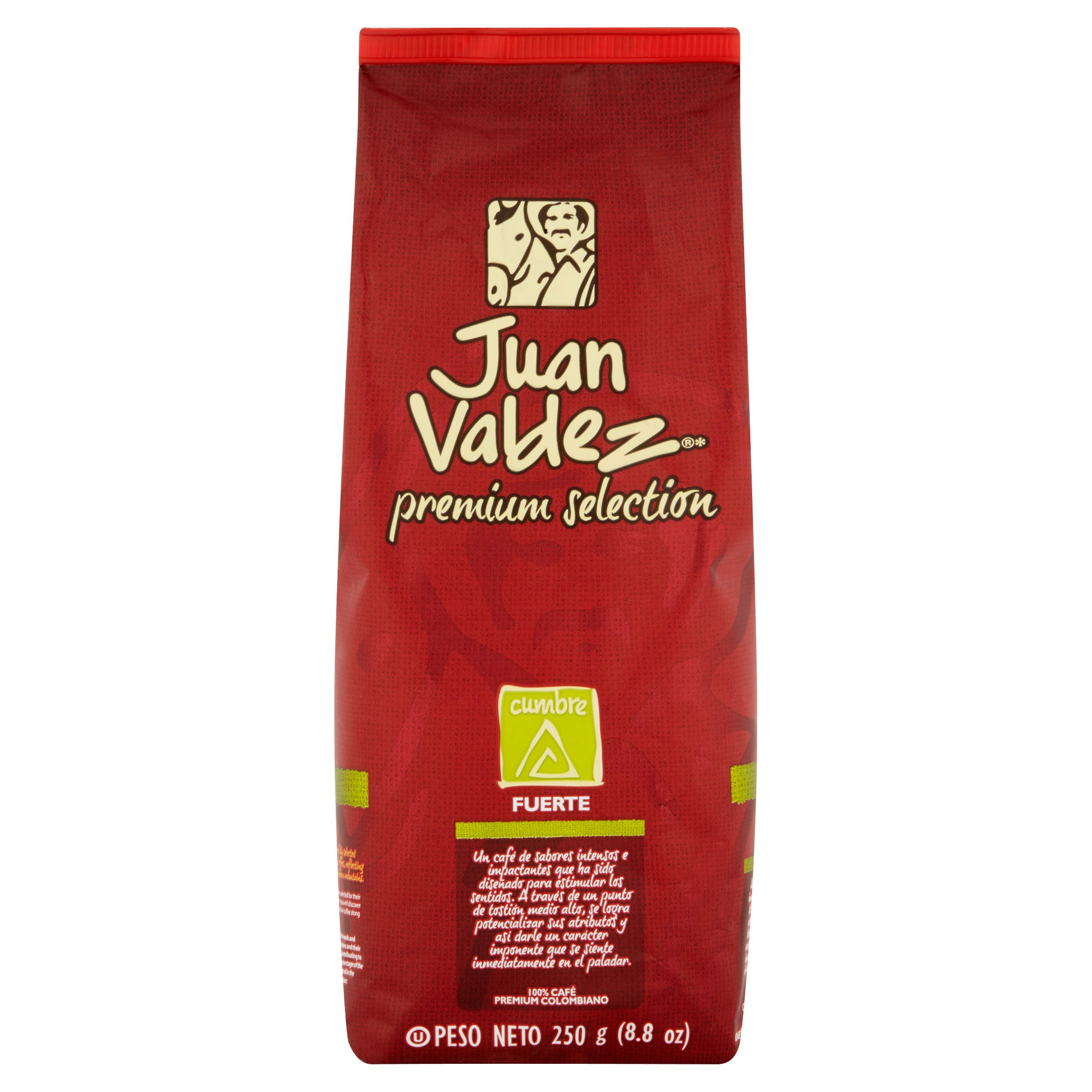 Juan Valdez Premium Selection Cumbre Roasted Coffee, 8.8 oz