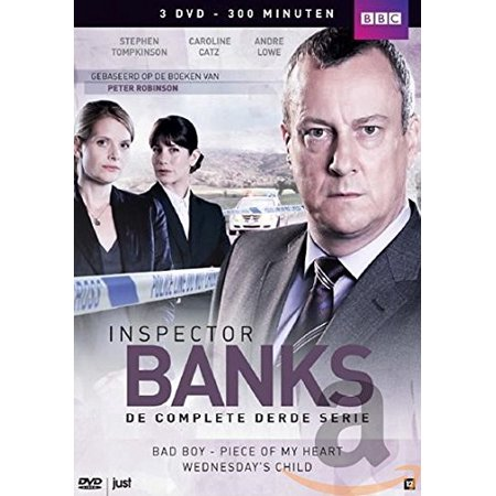 Inspector Banks (Complete Series 3) - 2-DVD Box Set ( DCI Banks ) ( Wednesday's Child / Piece of My Heart / Bad Boy ) [ NON-USA FORMAT, PAL, Reg.0 Import - Netherlands
