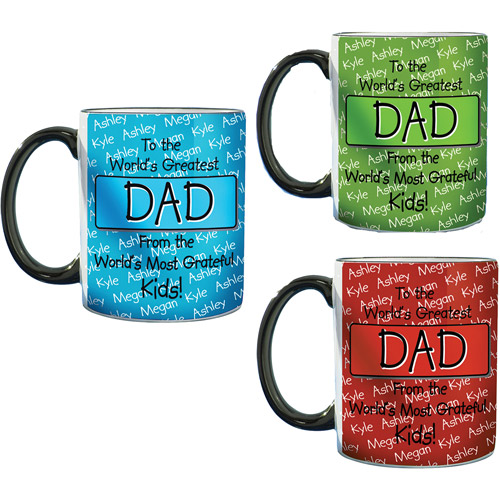 "Personalized ""To the World's Greatest ... "" Kids or Grandkids Mug"