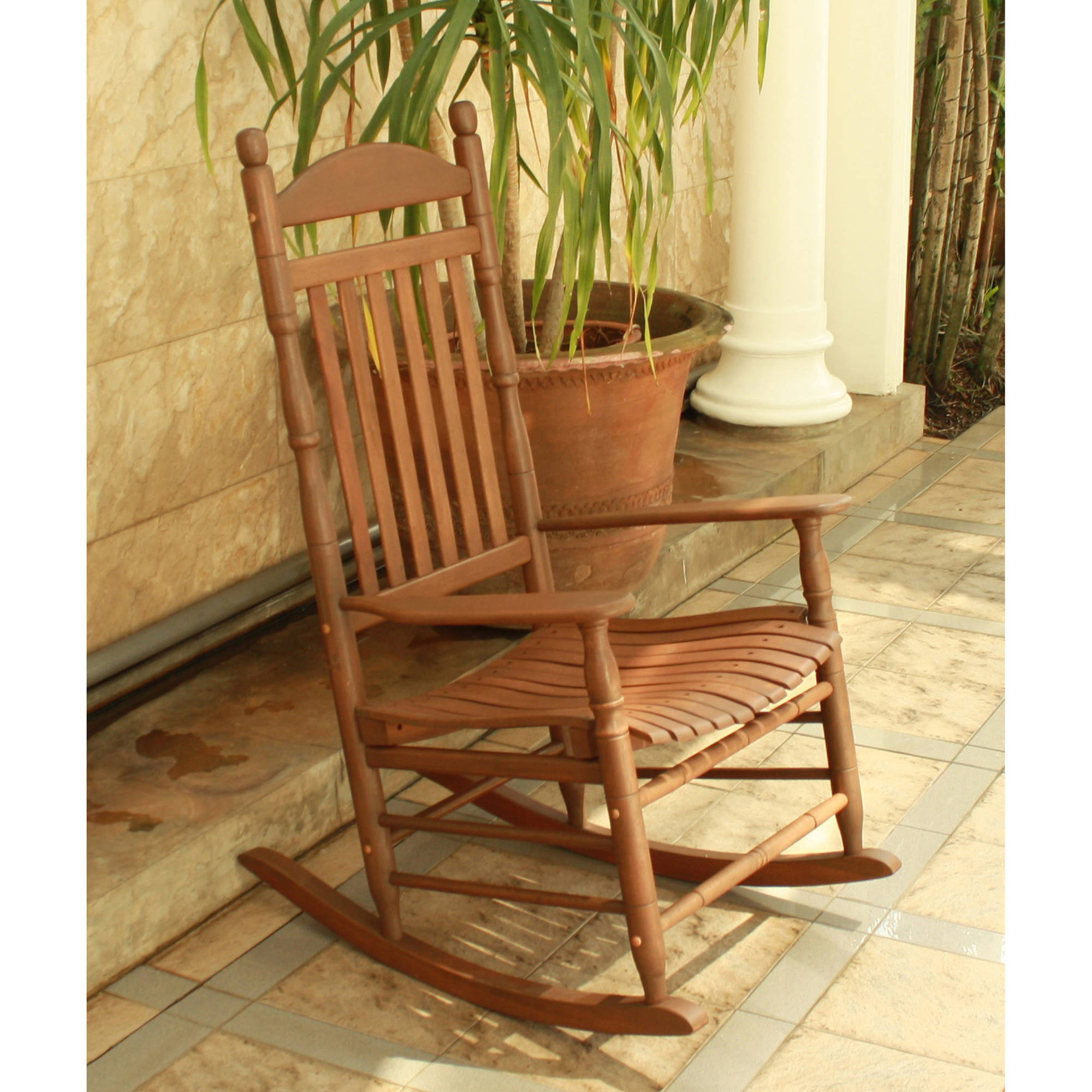 alston porch rocker natural