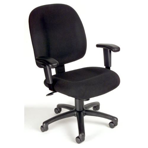 office chair controls. Boss Office Products Mid-Back Ergonomic Task Chair With Tilt Tension Control Controls
