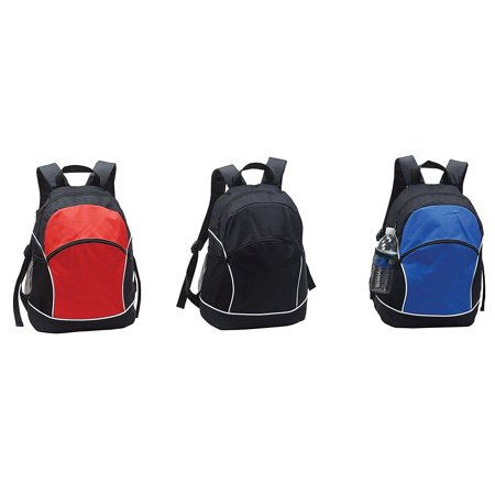 Goodhope Sport Backpack Red, • Made of 600D polyester • A spacious main zipper compartment with fully padded back panel • A front zipper organizer pockets for accessories • One side mesh pocket (Spacious Front Pocket)