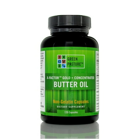 Green Pasture X-Factor High Vitamin Butter Oil, 120 count