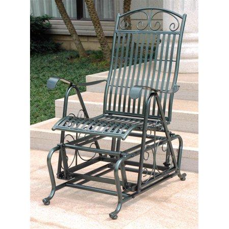 Single Glider Outdoor Chair