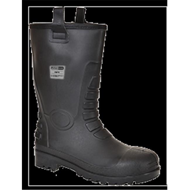 Portwest FW75BKR42 Neptune Rigger Boot - Black, Size - 9 - image 1 of 1