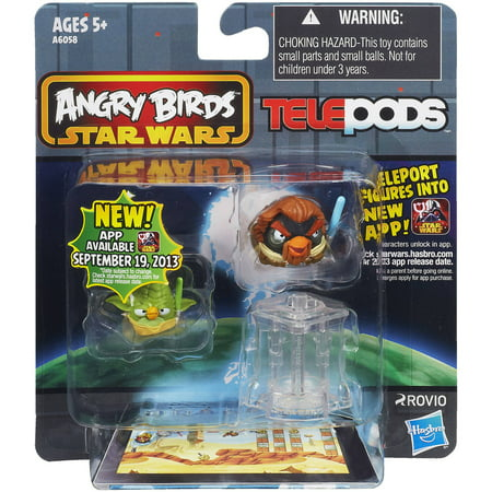 Angry Birds Star Wars Telepods Figure, 2-Pack - Walmart.com  Angry Birds Sta...