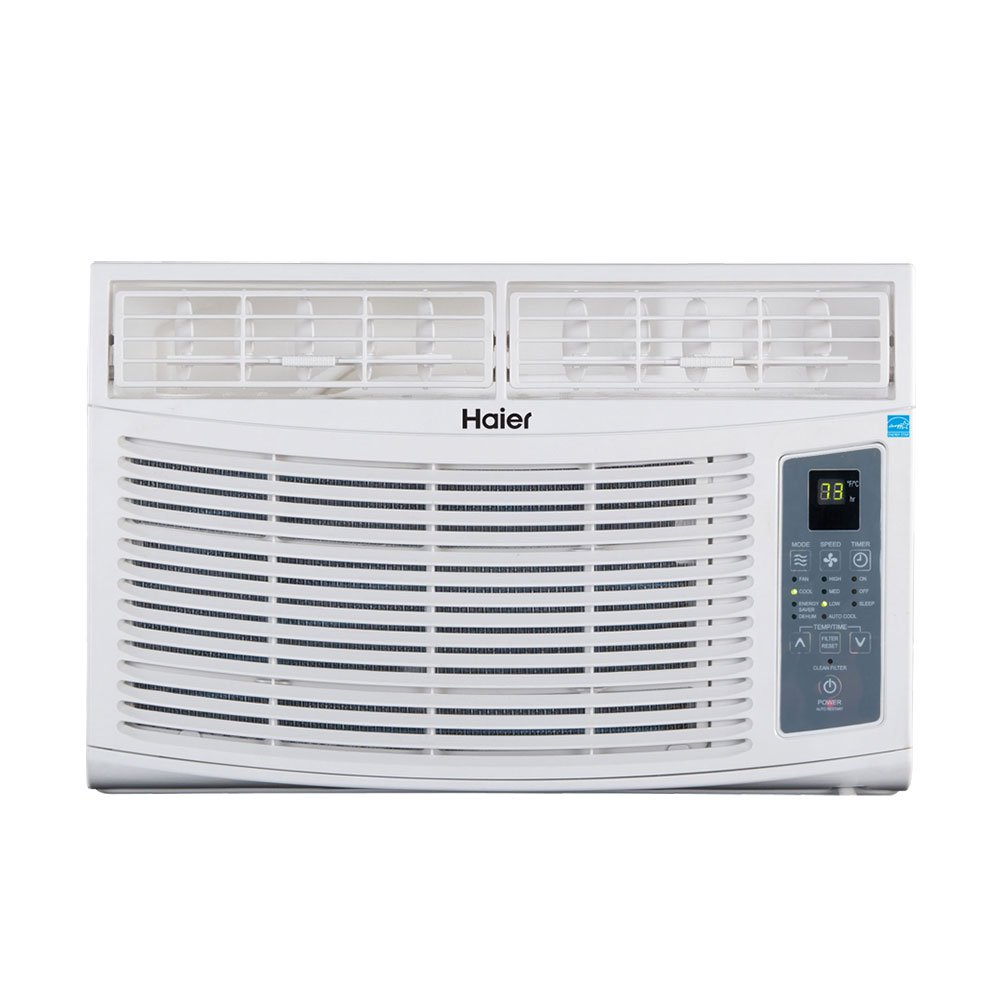 Haier ESA408R Energy Star 8000 BTU 12.0 CEER Fixed Chassis Room Air Conditioner