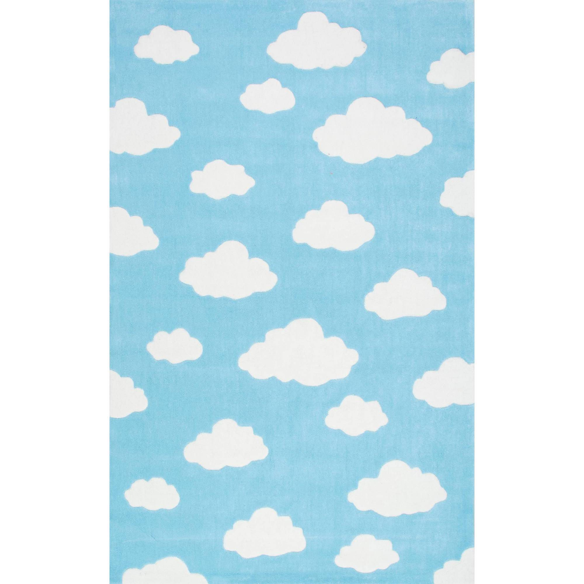 nuLOOM Hand-Tufted Cloudy Sachiko Kids Area Rug