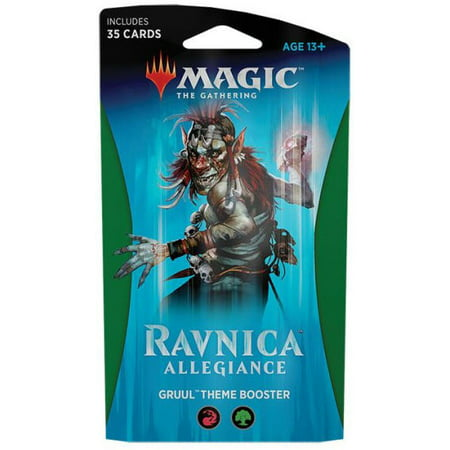 MtG Ravnica Allegiance Gruul Theme Booster Pack](Group Theme Ideas For Halloween)