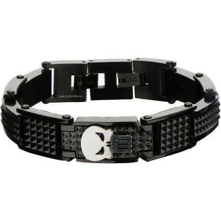 - Punisher Black Steel Bracelet
