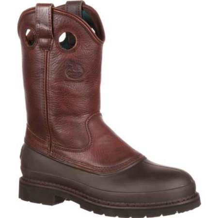 "Image of Georgia Boot Work Mens 12"" Muddog ST Comfort Core Soggy Brown G5655"