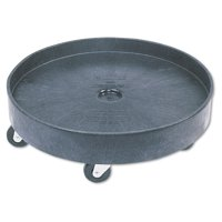 Rubbermaid Commercial Brute Container Universal Drum Dolly, 500lb, Black by RUBBERMAID COMMERCIAL PROD.