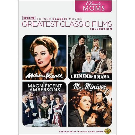 TCM Greatest Classic Films Collection: Classic Moms - Mildred Pierce / I Remember Mama / The Magnificent Ambersons / Mrs. Miniver (Full Frame) - Halloween 1978 Full Film