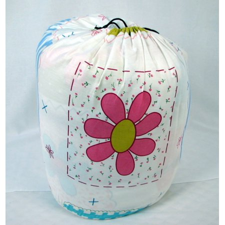 SoHo Slumber Bag for Kids, Flowery Bloom, With Pillow and Sleeping Bag Cover, 50 Degrees
