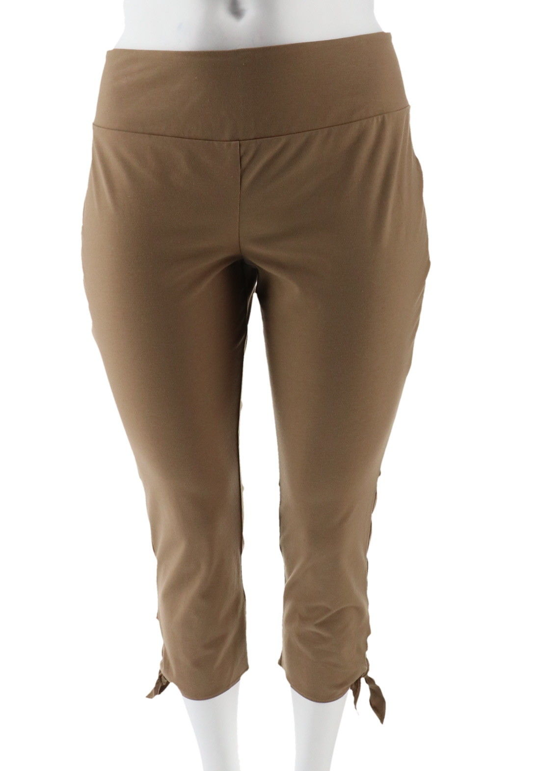Women with Control Petite Tummy Control Crop Pants A290731