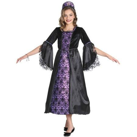 Purple Medieval Child Halloween Costume