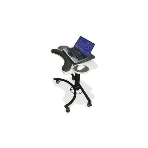 BALT, INC Adjustable Laptop Stand,w/ Mouse Holder,28x18x20-30,Gray