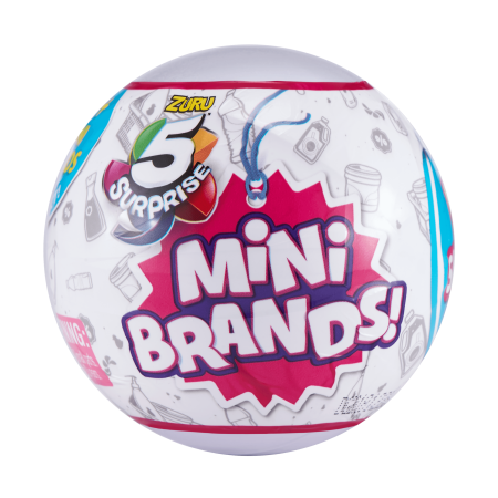 5 Surprise Mini Brands Mystery Capsule Collectible Toy by ZURU (Luxus-uk Brands)