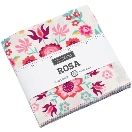 Rosa Moda Charm Pack by Crystal Manning; 42 - 5