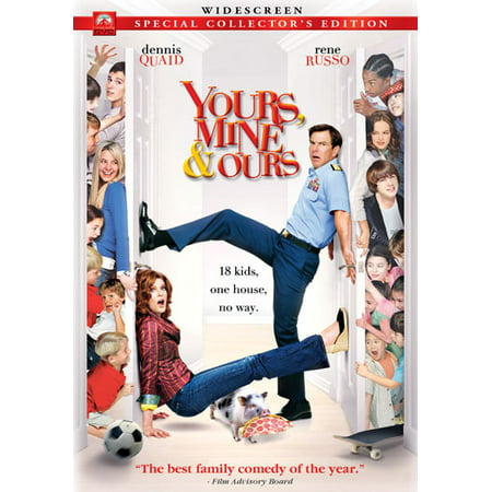 Yours, Mine & Ours Widescreen (DVD) (The Cast Of Yours Mine And Ours)