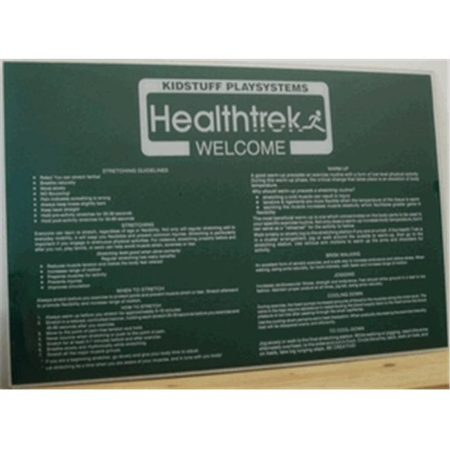 Kidstuff Playsystems HTK20 Welcome Sign