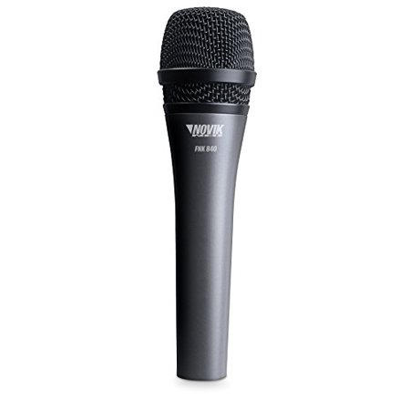 NOVIK NEO FNK 840 Professional Dynamic Microphone with Cardioid Polar Pattern & Cable, Unidirectional, Connector XLR, Cable