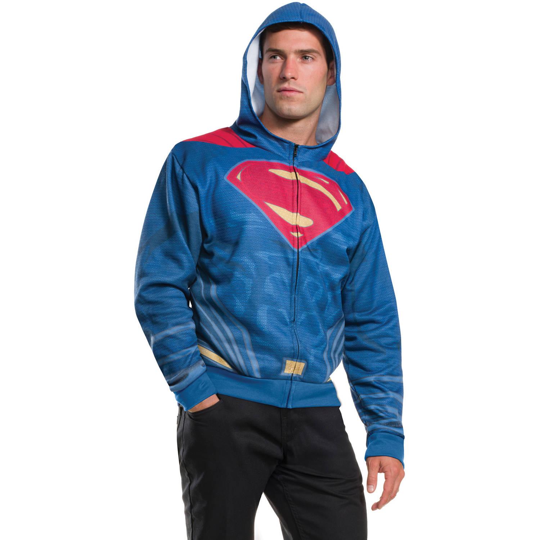Superman Hoodie Adult Halloween Costume