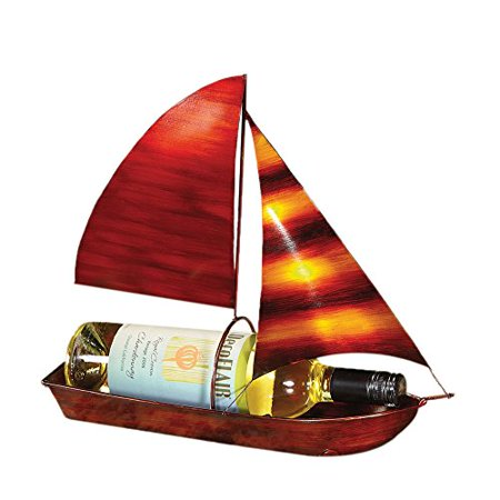 Wine Bottle Holder Sailboat