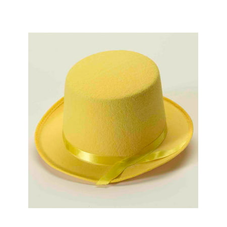 Yellow Top Hat Halloween Costume Accessory
