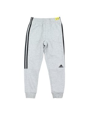 f82690816d28 Product Image Adidas Boy s Youth French Terry Jogger Pants (Black White