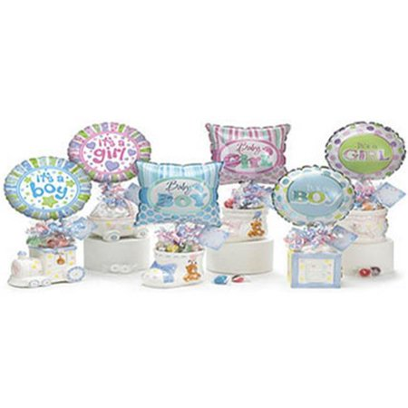 Baby Gift Idea K1456 Baby Balloon and Candy Gift Set - Walmart.com