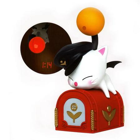 02-82700 Final Fantasy XIV: A Realm Reborn Moogle Mail Box Projection Clock (Mailbox Clock)