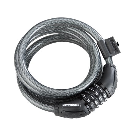- Kryptonite Resettable Bicycle Security Combination Cable Lock