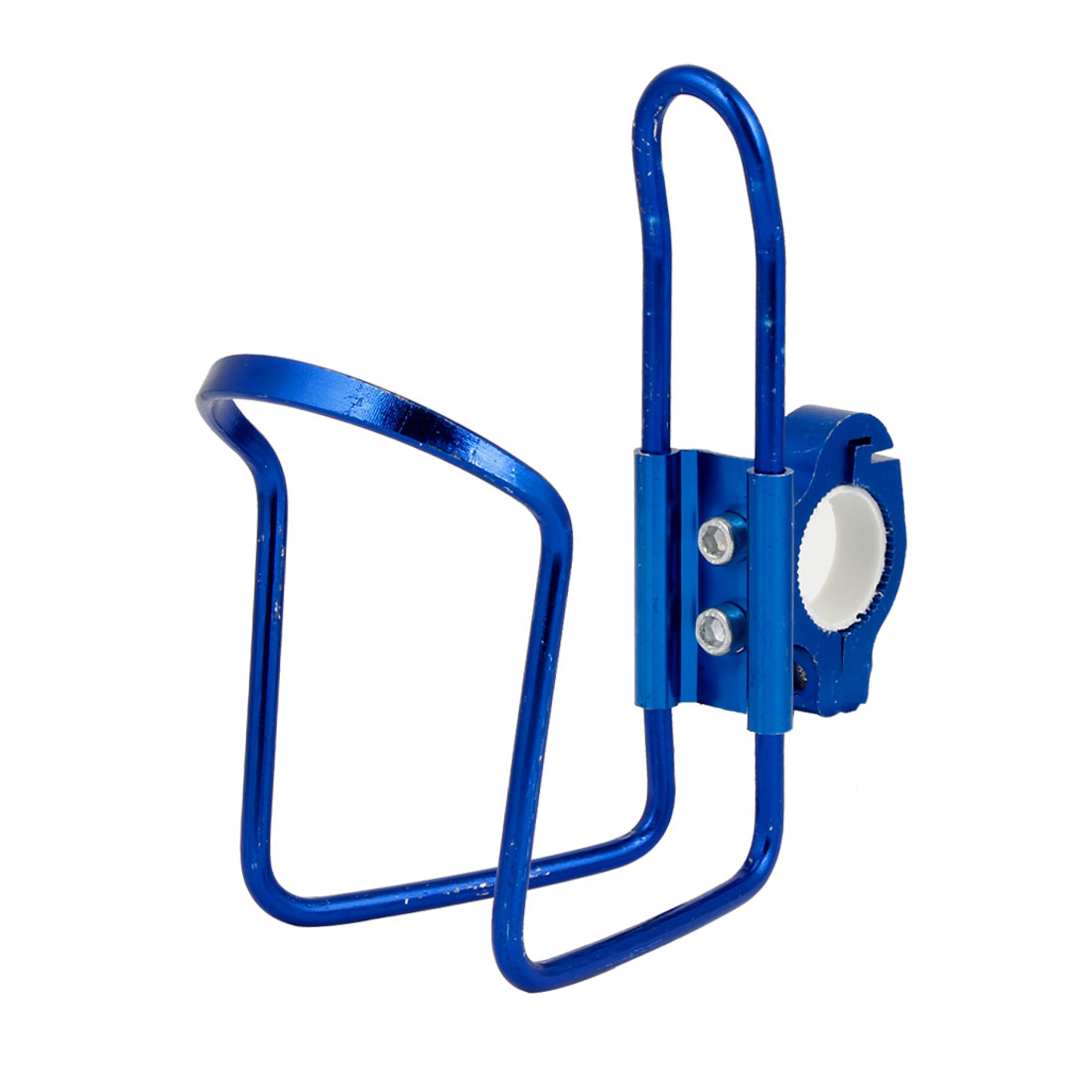 Mountain Bike Bicycles Royal Blue Aluminum Alloy Water Bottle Cup Rack Holder