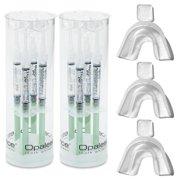 Opalescence Teeth Whitening Gel Mint 20% with 3 GreenDot Teeth Trays (20, 8 Syringes)